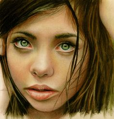 """Saatchi Online Artist: Brian Scott; Colored Pencils, Drawing """"Why does my heart feel so sad"""""""
