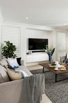 Dark Grey Kitchen Cabinets, Shutters, Spotlight, Blinds, House Ideas, Lounge, House Design, Fresh, Interior Design