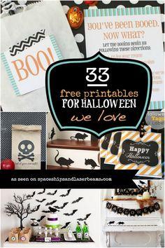 33 Free Printables for Halloween