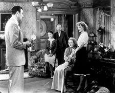 """""""In_This_Our_Life"""" The Family Circle: George Brent, Olivia de Havilland, Frank Craven, Billie Burke and Bette Davis Classic Hollywood, Old Hollywood, Joan Fontaine Sister, George Brent, Actor Secundario, Claude Rains, Billie Burke, Glinda The Good Witch, John Huston"""
