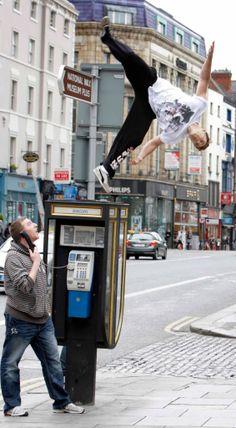 Free running stunts  www.streets-united.com