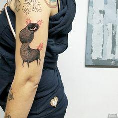 www.instagram.com... #tattoo #tatuaz #tattoowork #project #design #ink #inked #graphic #tattuaggio #btattooing #tattuaje #illustration #татуировка #тату #krakow #berlin #wroclaw #warszawa #prague #praha #tetovani #tätowierung #tatuajes #panakota #littletattoos #creature
