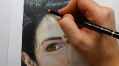 Coloring skin and hair with colored pencils - Part 2 | Emmy Kalia