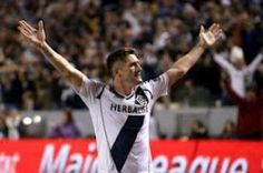 LA Galaxy v Seattle Sounders in a MLS Western Conference clash