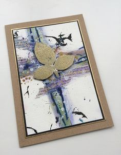 PaperArtsy: 2016 #17 Inky Cards {by Ruth Mescall}