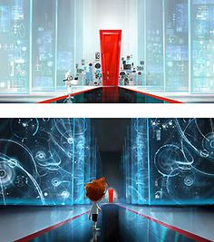 Mr. Peabody and Sherman - Server Room - DreamWorks Animation - World-Wide-Art.com