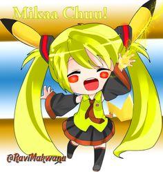 Mikachu  it's fusion