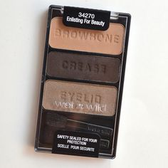 The Daily Bailey B.: Review & Swatches: Wet n Wild Tough Girl Trio Eyeshadow…