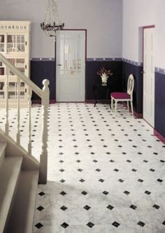 At Forbo we offer the most exciting products for your home from linoleum, marmoleum to vinyl tiles & plank designed to inspire! Vinyl Tiles, Vinyl Flooring, Tiled Hallway, Floor Design, Fixer Upper, Design Inspiration, Kids Rugs, House, Beautiful