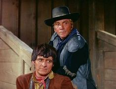 Buck Cannon and Manolito Montoya, The High Chaparral. Cameron Mitchell, The High Chaparral, Tv Westerns, Western Movies, Tv Shows, Handsome, Hollywood, Singer, Actors