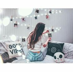 Items similar to Love lights charming own photos clip , fairy string lights with wooden clips and lovable decor bulb 15 m warm white on Etsy My New Room, My Room, Dorm Room, Tumblr Bedroom, Tumblr Rooms, Dream Bedroom, Girls Bedroom, Bedroom Decor, Bedrooms