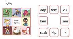 Veilig leren lezen Kim-versie. Kern 1