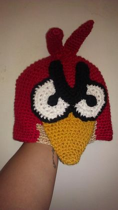 My first Angry Bird Beanie I made =)