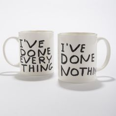 Everything- Nothing Mug
