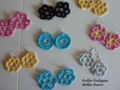 crochet earrings patterns free | CROCHET EARRINGS FREE PATTERNS AND CHARTS | Crochet patterns