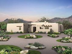 Haciendas spanish haciendas and mexican hacienda on pinterest for Adobe hacienda house plans