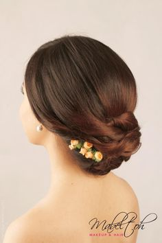Chinese Modern Hair Stylist Classy Bridal Hairstyle