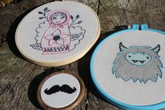 Embroidery from #craftster.