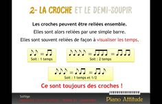 Apprendre le solfège - rythmes 2a : comprendre Sax, Piano, Module, Notes, Culture, Education, Musica, Teaching Music, Music Lessons