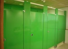 The Steiner Academy in Much Dewchurch, Hereford has fitted Hadrian steel toilet cubicles from Relcross in their new toilets. The new cubicles are in striking RAL 6018 Yellow Green and look dramatically brighter than most toilets. Toilet Cubicle, Construction News, New Toilet, Cubicles, Innovative Products, Hereford, Toilets, Locker Storage, Innovation