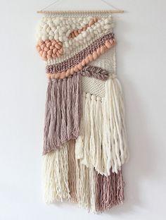 Super Ideas for wall tapestry woven texture – pat m – weberei Weaving Wall Hanging, Weaving Art, Tapestry Weaving, Loom Weaving, Tapestry Wall Hanging, Hand Weaving, Wall Hangings, Mochila Crochet, The Knot