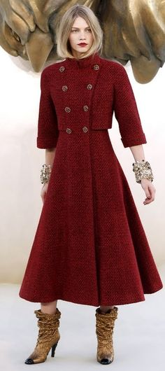Chanel - great  coat -Ok, so a lot of what I post to my style is what I'd like my style to be!