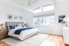 everything target - emily-henderson_master-bedroom_target_bedding_layered_light_texture_blue_white_brass_masculine_soft_14