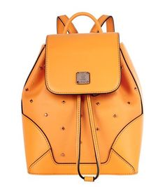 MCM X-Mini Claudia Studs Backpack. #mcm #bags #canvas #backpacks #pvc #