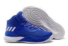 0556c7d4d67a 2018 adidas D Rose 8 Royal Blue White Men s Basketball Shoes Basketball  Equipment