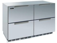 My devotion to the traditional Sub-Zero refrigerator was called into question recently when I visited a friend's kitchen with a suite of undercounter refrigeration; in the space ordinarily occupied by the refrigerator, she has a spacious storage pantry. With high-end manufacturers like Sub-Zero offering highly rated undercounter refrigeration options, is it possible that drawers will replace the traditional upright behemoth?
