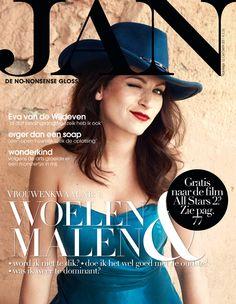 Cover JAN Magazine 10-2011 Eva van Wijdeven