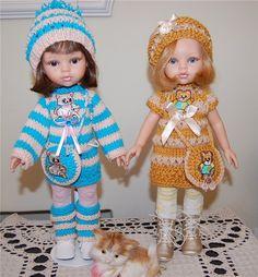 Одиннадцать нарядов для двух Паолочек (куклы Paola Reina) / Одежда и обувь для кукол - своими руками и не только / Бэйбики. Куклы фото. Одежда для кукол