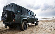 defender 110, custom | Land Rover Defender Conversion & Land Rover Defender Interiors | Void ...