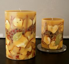 Rosy Rings Botanical Candle, Spicy Apple