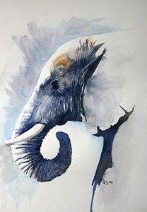 Debbie Schiff - Old Boy | Animals Wildlife Art Modern Art ...BTW, check this out!!!! : http://artcaffeine.imobileappsys.com