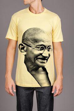 Ghandi Dapper Society Determined Spirit Tee @ Jack Threads