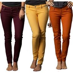 2013 Fox Racing Ripper Colored Casual Motocross Adult Pants Jegging Jeans