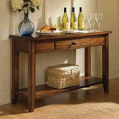 Aspen Home Cross Country Sofa Table AS-IMR-915