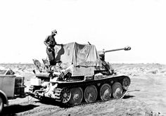 A Marder operating with Afrika Korps forces
