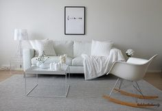 La Dolce Vita/ White living room