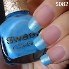 Love this blue! @BornPrettyStore, Sweet Color Eco-friendly Candy Nail Polish Va... at USD $6.14. http://www.bornprettystore.com/-p-6315.html