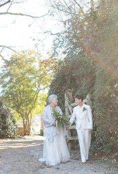 #lesbianwedding #twobrides #loveislove #lgbtq #lgbtwedding #lgbtqwedding #samesexwedding