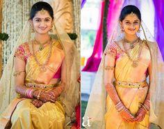 Bride in Bhargavi Kunam Wedding Blouse | Saree Blouse Patterns