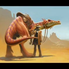 The Frontier Lawman and the Deputized Dinosaur