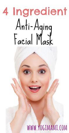 4 Ingredient Anti-Aging Facial Mask