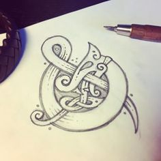 Snake ampersand & (fast pencil sketch) Амперсендозмей & Драконоперсанд - глядя на амперсанд всегда казалось что это орнамент или часть его побыстрому нарисовалось #celtic #celticart #celticknot #ornament #кельтcкий #орнамент #кельты #arzarz #monogram #ирландский #doodle #Arzamastsev #siberia #irish #celticdesign #design #knotwork #linedrawing #linework #lineart #pencilsketch #graphicdesign #design #sketch #pencil#snakeart #ampersand#snake #workprocess #letterdesign