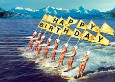 Afbeeldingsresultaat voor happy birthday surfer girl