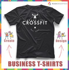 Fitness Gym Business T Shirt Design Idea S Customshirts Createbusiness Shirts Funbusinessidea