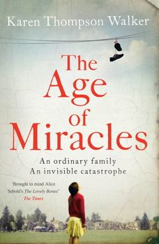 The Age of Miracles is a stunning fiction debut by a superb new writer, a story about coming of age during extraordinary times, about people going on with their lives in an era of profound uncertainty. ( Goodreads.com)