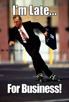 Mitt #Romney rollerblades to his business meetings.